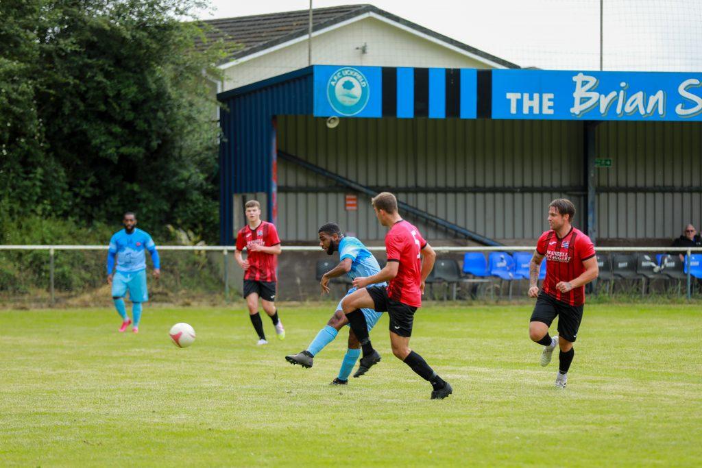 Pre-season action v afc Uckfield
